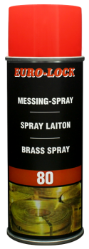 LOS 80 - Messing-Spray
