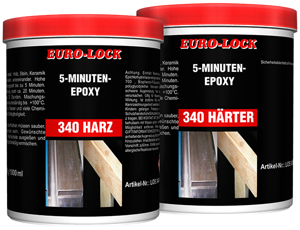 LOS 340 - 5-Minuten-Epoxy (2000 ml)